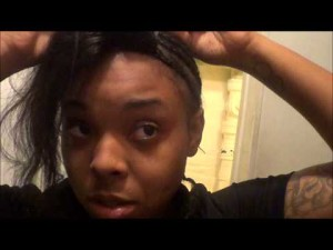How I sewed On My Closure ( LaceXclusive)