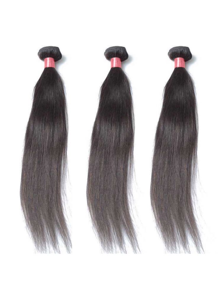 Triple Threat Virgin Filipino Natural Straight (3 Bundles)