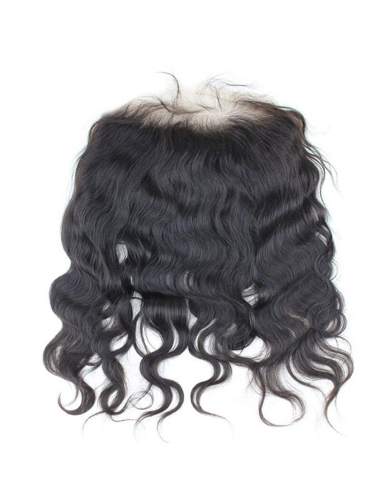 "Virgin Brazilian Remy Natural Wave 13"" x 3"" Lace Frontal"