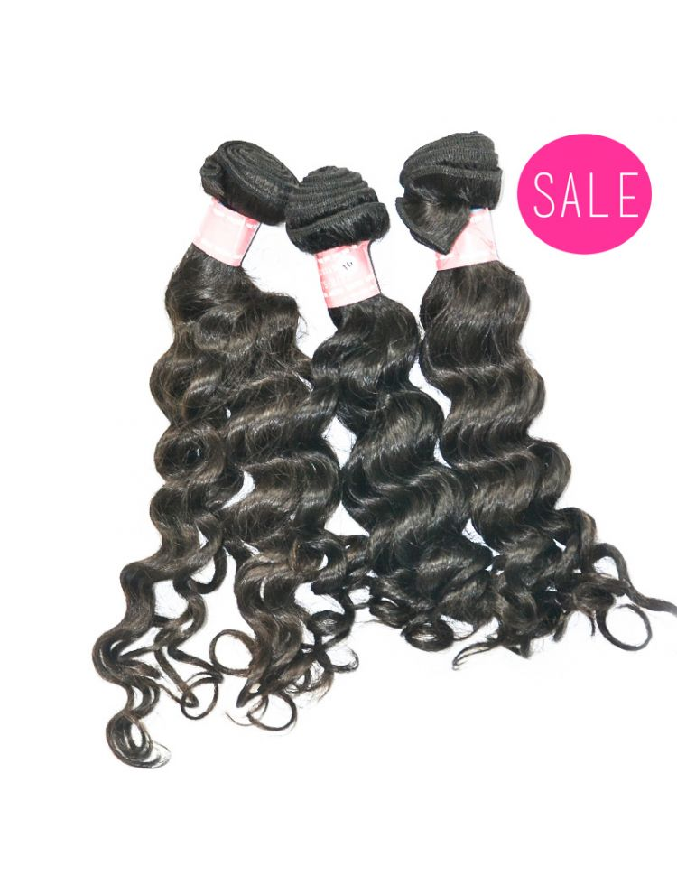 Triple Threat Virgin Brazilian Remy Curly Hair (3 Bundles)