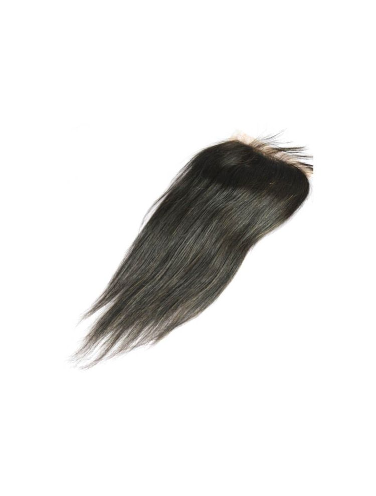 Virgin Brazilian Straight Silk Base Closure