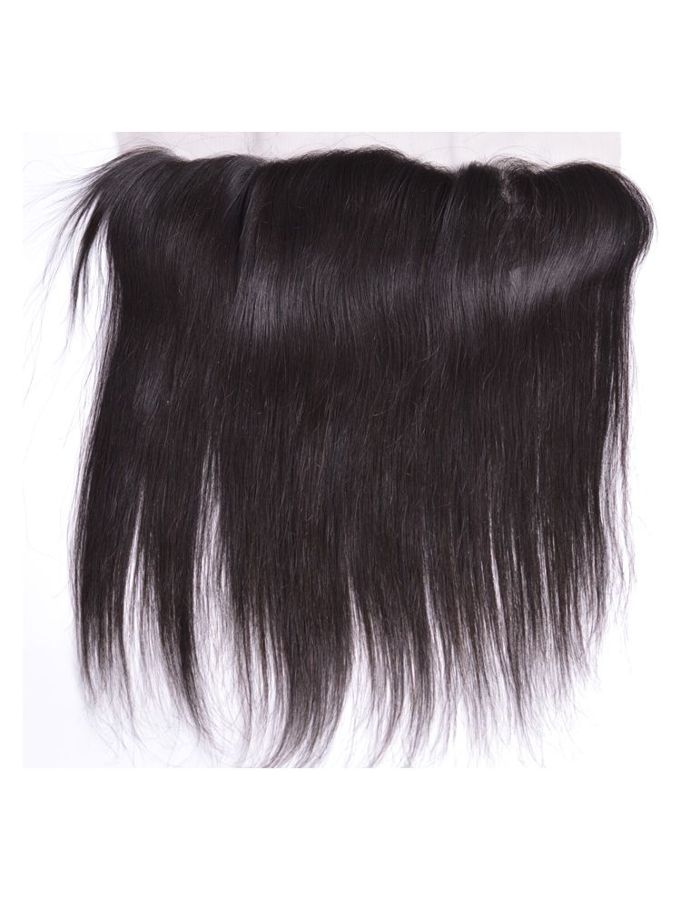 "Virgin Brazilian Remy Straight 13"" x 3"" Lace Frontal"
