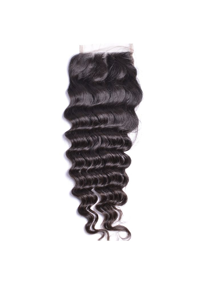Virgin Malaysian Remy Curly Lace Closure