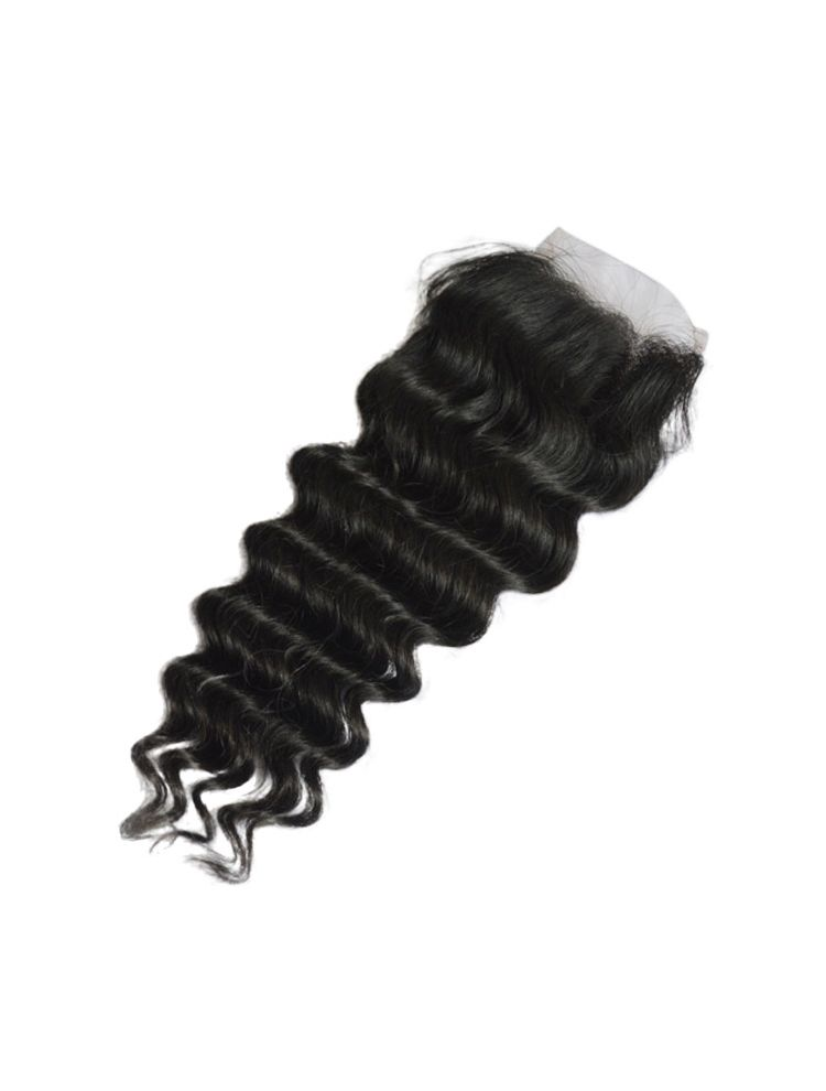 Virgin Brazilian Remy Curly Lace Closure