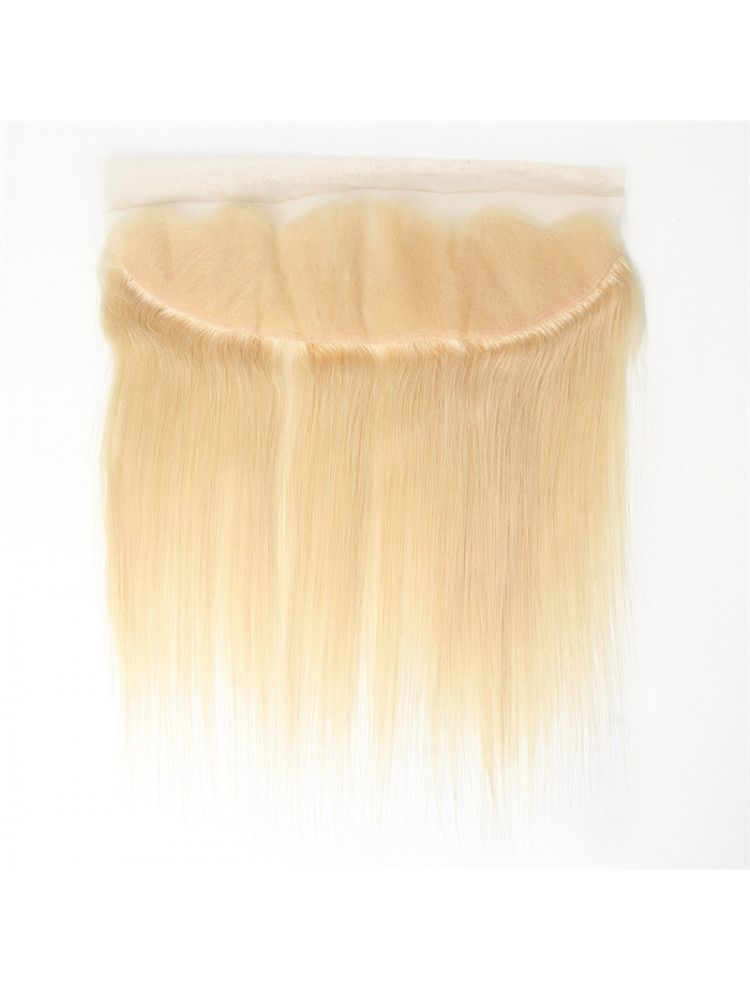 """Virgin European Remy Natural Straight 13"""" x 4"""" Lace Frontal"""