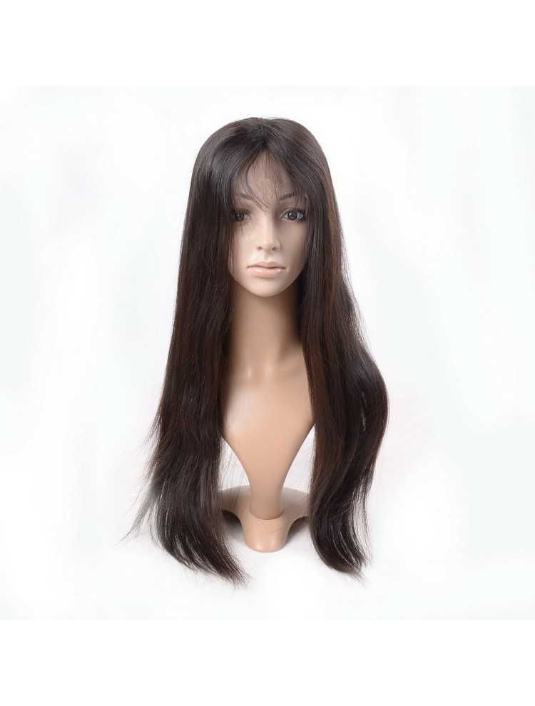 Virgin Brazilian Remy Natural Straight Full Lace Wig